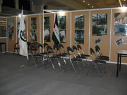The Hamas hall at the exhibition (Palestine-info website, November 3).
