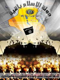 A poster produced by the Global Islamic Media Front