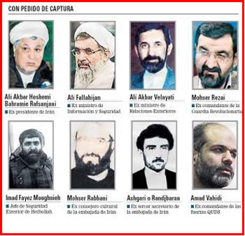Argentina's wanted list
