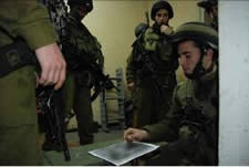 IDF forces during the operation in Nablus