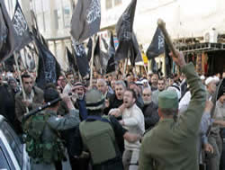 Islamic Liberation Party demonstration