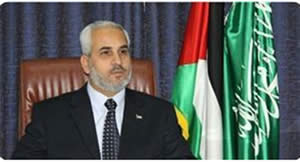 Fawzi Barhoum at a press conference after the meeting in Cairo (Hamas' palestine-info website, May 20, 2012).