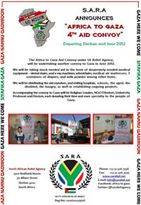 General and contact information for the convoy (SARA website, May 29, 2012)