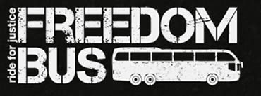 Freedom Bus logo (Website of the Freedom Theater, June 12, 2012).
