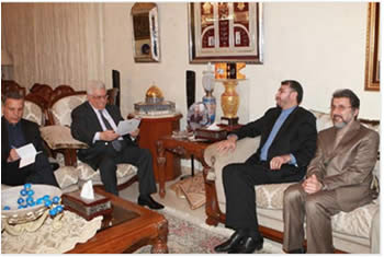 Mahmoud Abbas receives an invitation to visit Iran (Wafa News Agency, July 8, 2012)