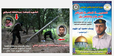The Double Identities of Hamas Security Force Operatives