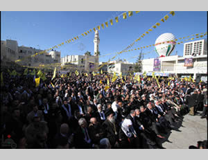 Fatah marks the 48th anniversary of its founding.