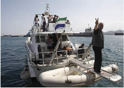 The French ship Dignity/Al-Karama (Freedom Flotilla Italia website, March 17, 2013).
