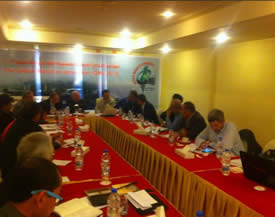 The GMJ central committee conference in Cairo (GMJ Facebook page, April 25, 2013)