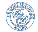 The Right Livelihood Award logo (PCHR website, September 26, 2013)