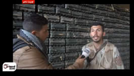 A rebel commander from an organization that participated in the takeover with the Al-Nusra Front reports that the storerooms held anti-tank missiles and Grad rockets. He added that the next stage would be to transfer the weapons to a secure area and from there to distribute them to all the fronts.