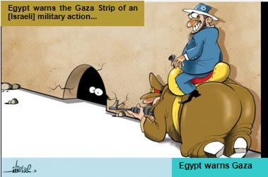 Israel is behind Egypt's actions against the Gaza Strip (Hamas' Felesteen, January 4, 2014)