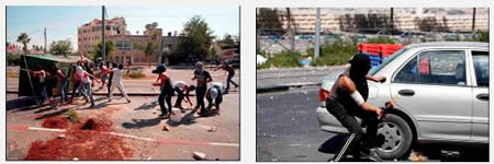 Riots in Jerusalem (Wafa.ps, June 5, 2014).
