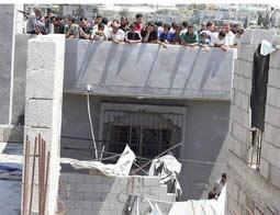 Hamas again uses Gazan civilians as human shields to prevent the Israeli Air Force from attacking operatives' houses. Hamas will probably employ various tactics of  using civilians as human shields as Operation Protective Edge continues and expands.