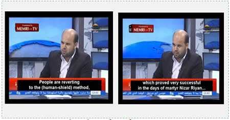 From the interview (MEMRI, July 9, 2014).