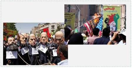 Jerusalem Day in Iran (Demotix.com. July 25, 2014)