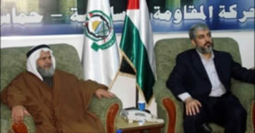 Khaled Mashaal, chairman of Hamas' political bureau, at a conference of Arab parties where he said that most of the money received by Hamas and most of its efforts were invested in its military buildup (Paltimes.net, November 12, 2009).