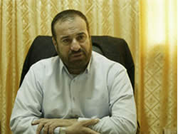 Fathi Hamad, minister of the interior in the de-facto Hamas administration