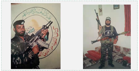 'Adel Muhammad Abu Hweishel, Obeida's uncle, an Izz al-Din al-Qassam Brigades terrorist operative. He headed the Hamas rocket network in the Nuseirat refugee camp in the central Gaza Strip (Elderofziyon.blogspot.co.il)