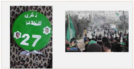 Rally in Hebron to Mark the Founding of Hamas