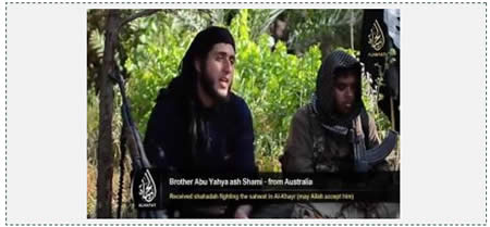 ISIS video distributed in June 2014 on Islamic forums and on YouTube.