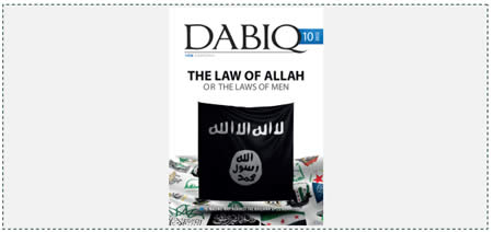Issue 10 of ISIS's organ Dabiq (July 2015)