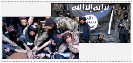 The Islamic Movement of Uzbekistan pledging allegiance to ISIS's leader (Isdarat al-Dawla al-Islamiyya, August 6, 2015)