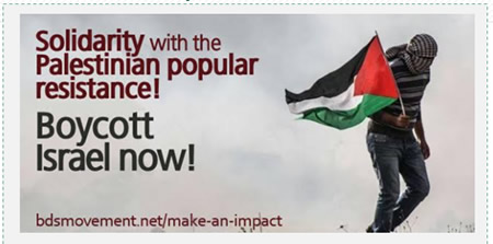 "The BNC represents the current wave of Palestinian terrorism as ""popular resistance"" against ""fierce Israeli repression."" In an appeal to BDS activists around the globe for solidarity with the Palestinian ""popular resistance,"" it ignores the current wave of anti-Israeli terrorism (Bdsmovement.net, October 21, 2015)."