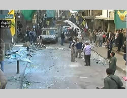 Combined ISIS Suicide Bombing Attacks in the Shi'ite Suburb of South Beirut