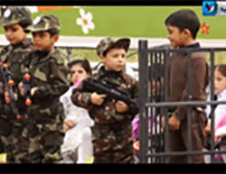 Indoctrinating Palestinian Children with Hatred and Violence towards Israel