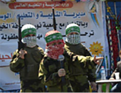 Indoctrinating Gazan Children with Hatred and the Use of Violence against Israel *