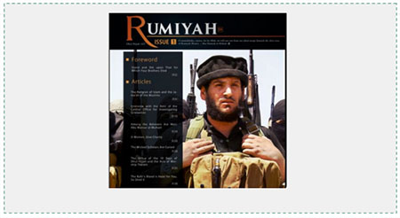 Abu Mohammad Al-Adnani, considered  ISIS's number 2 leader, commemorated in an article in ISIS's new organ, Rumiyah (i.e., Rome, the  capital of Christianity)