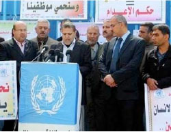 Dr. Suhail al-Hindi, Chairman of the UNRWA Staff Union in the Gaza Strip and Boys' Elementary School Principal, Is Elected to Hamas' New Gaza Political Bureau