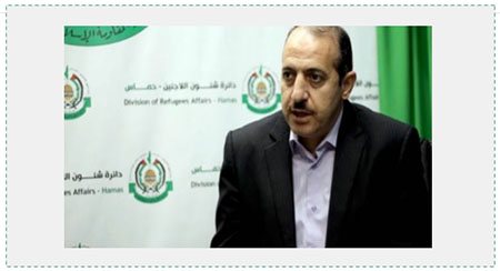 Dr. Issam Adwan, chairman of Hamas's Division of Refugee Affairs (Photo: website of Hamas's Division of Refugee Affairs, June 15, 2017)
