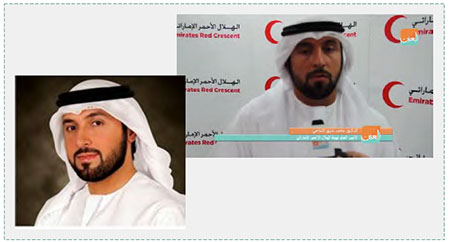 Dr. Mohammed Ateeq al-Falahi, secretary general of the UAE Red Crescent (al-Watan, Kuwait, March 26, 2015; YouTube, March 30, 2016).