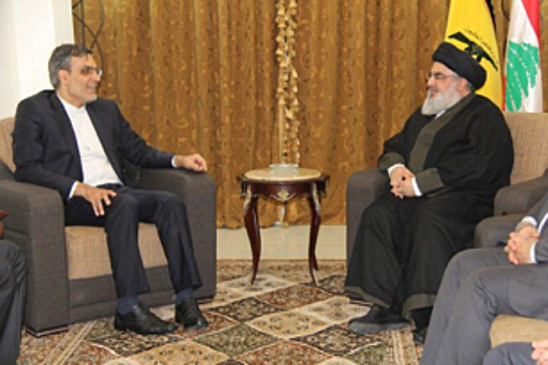 The Ansari-Nasrallah meeting (Khabar Online, August 22 2017)
