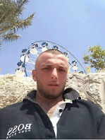 The terrorist who carried out the stabbing attack (Facebook page of Nablus News, August 2, 2017).