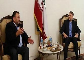Saleh al-Arouri meets with Hossein Amir Abdollahian in Beirut (eremnews, August 2, 2017). It was Saleh al-Arouri's first media appearance since he was expelled from Turkey and Qatar. He is apparently currently staying in Lebanon.