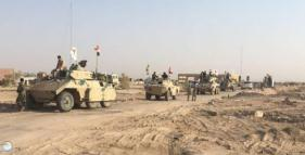 Iraqi army armored vehicles ready for the takeover of Tal Afar (Al-Sumaria, August 20, 2017)