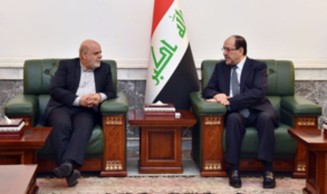 The meeting between members of the Expediency Discernment Council and Nouri al-Maliki (Mehr, August 31 2017).