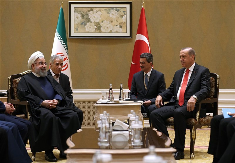 The Rouhani- Erdoğan meeting in Astana (Tasnim, August 10 2017).