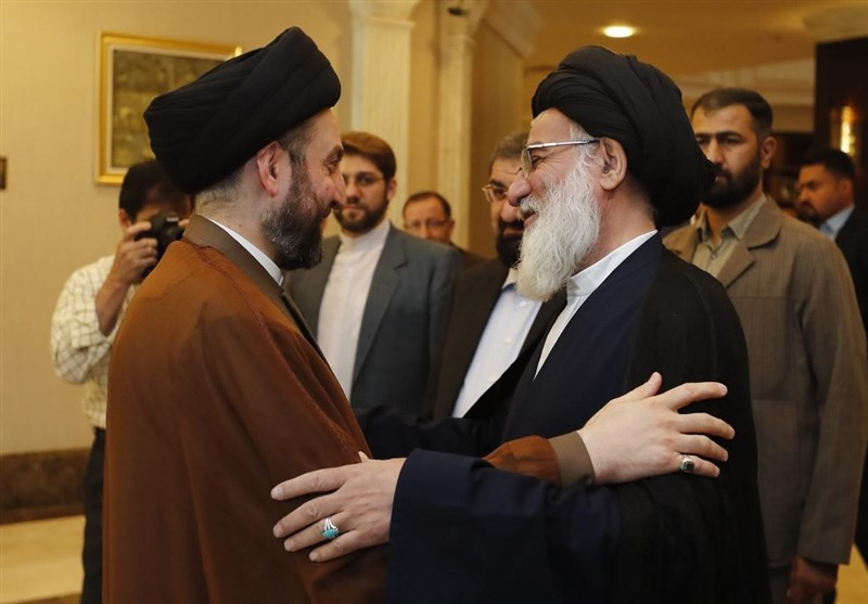 The meeting between Hakim and Hashemi Shahroudi (Tasnim, September 4 2017).