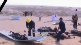 Casualties being evacuated from the scene of the attack (YouTube, 14 September 2017).