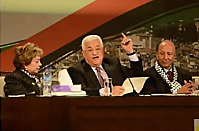 Mahmoud Abbas' opening speech at the Seventh Fatah Conference in Ramallah, where he reconfirmed the strategy of the so-called