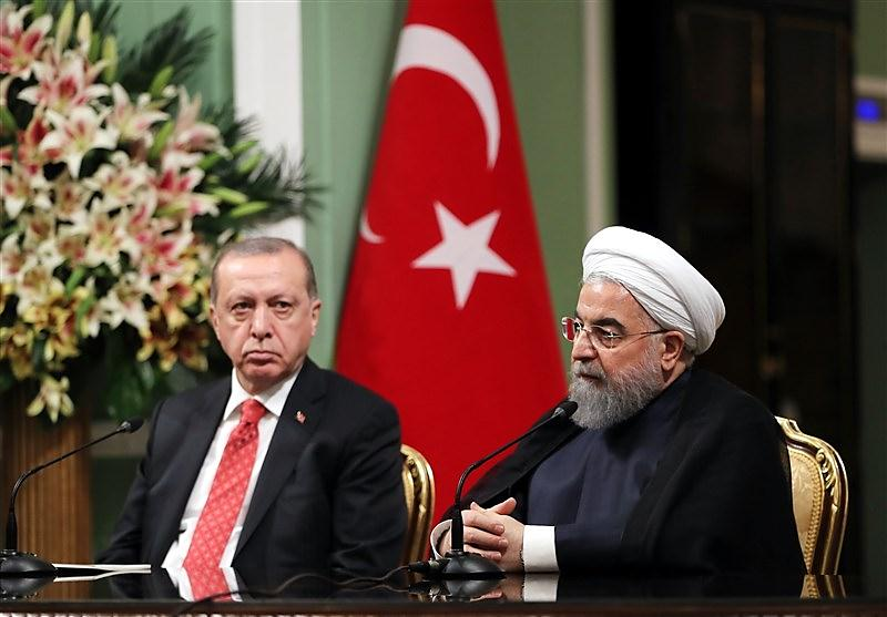 The joint Rouhani- Erdoğan press conference (Tasnim, October 4, 2017)
