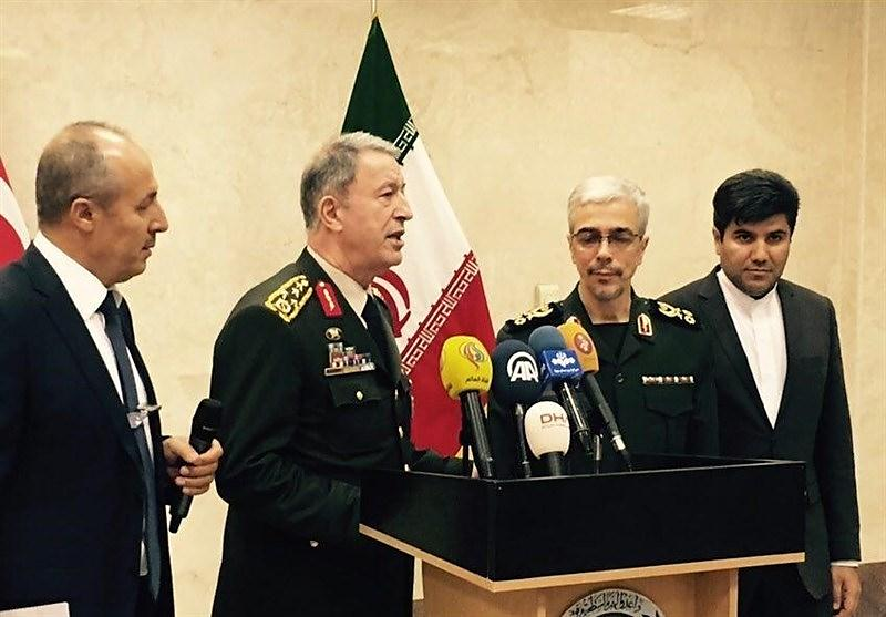 The Turkish and Iranian chiefs of staff (Tasnim, October 2, 2017)