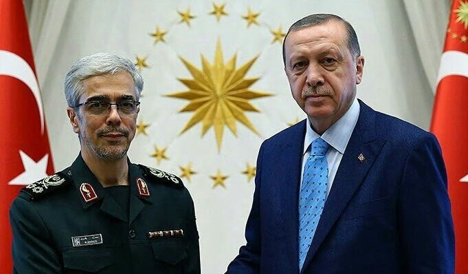 The Bagheri- Erdoğan meeting (Farda News, August 16 2017).