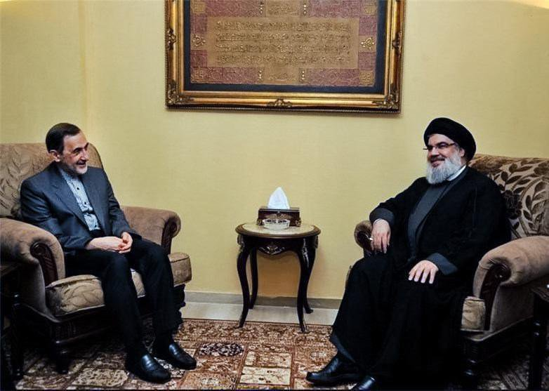 The Velayeti-Nasrallah meeting (Fars, November 3 2017).
