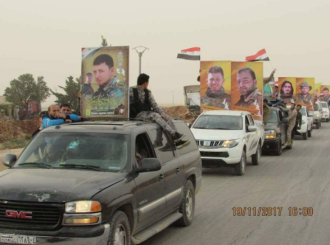 Photos of operatives killed in the battles with ISIS, mainly among Hezbollah.