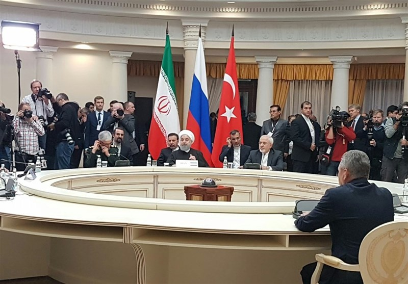 The summit in Sochi (Tasnim, November 22 2017).